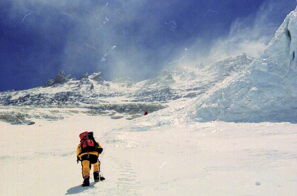 Dragan Jaćimović ekspedicija Mont Everest 2000. Uspon uz Lo-Tse stenu