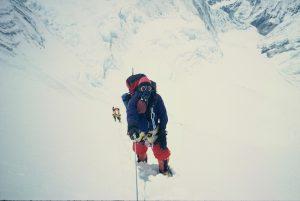 Dragan Jaćimović uspon na Mont Everest uz LoTse padinu