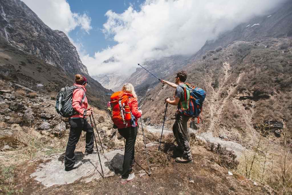 Okruzeni vrhovima Himalaja