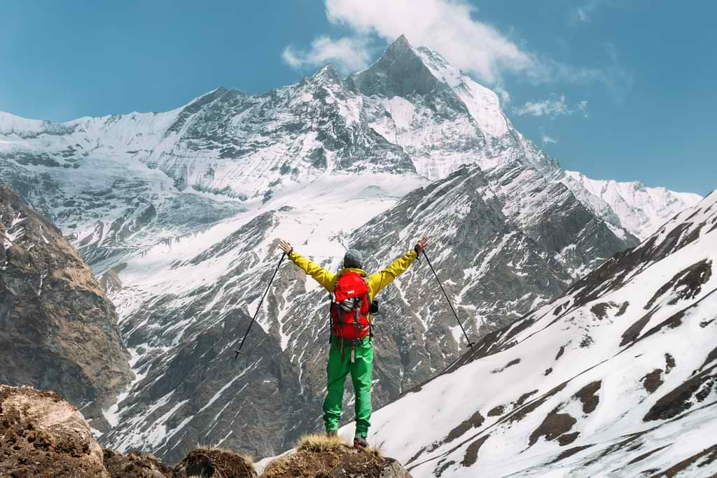 Annapurna trek panorama