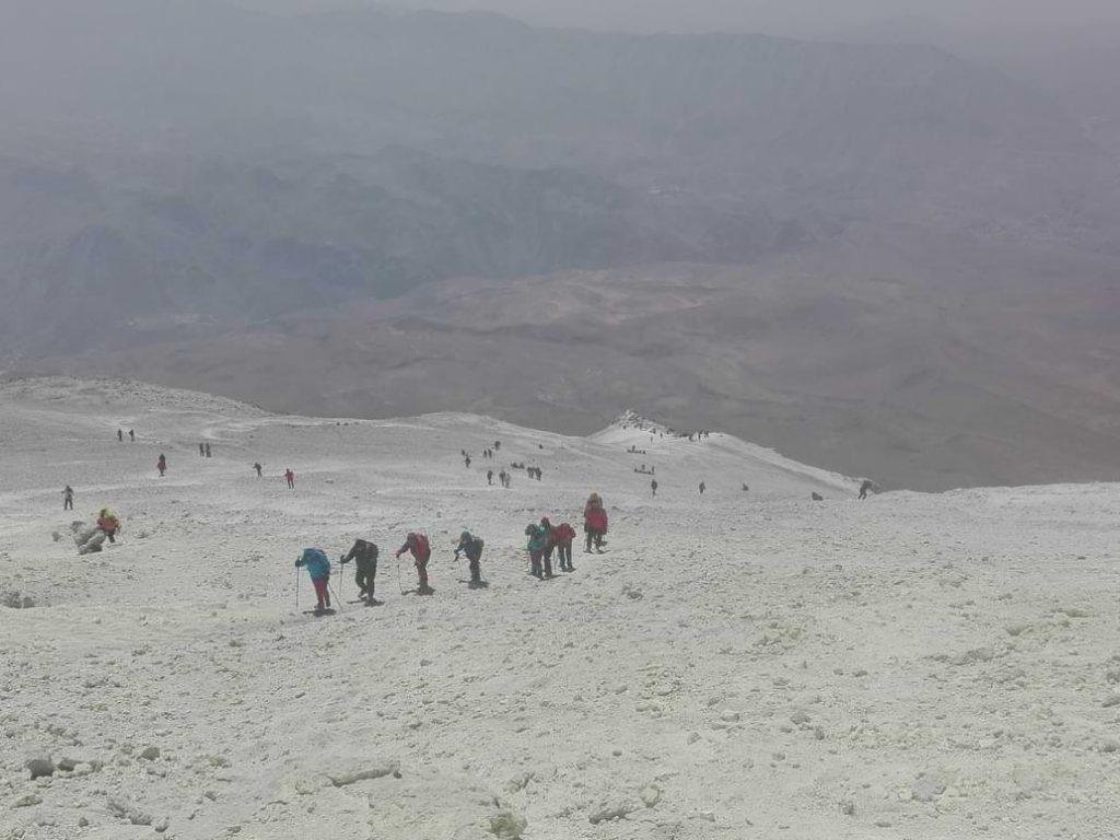 Polako prema vrhu Damavanda