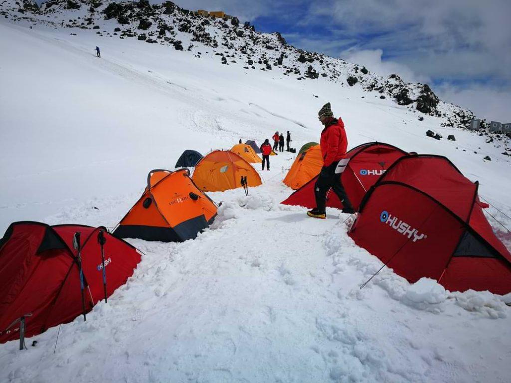 Bazni kamp na Elbrusu